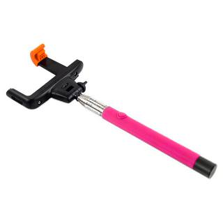 Monopod Selfie with Bluetooth Z07-5 Pink