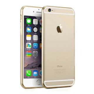 Фото - Metal Bumper for iPhone 6S/6 Gold