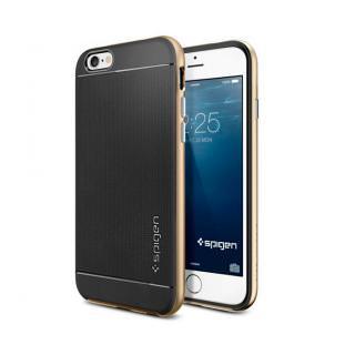 SGP Spigen Case Neo Hybrid Metal Series iPhone 6 Champagne Gold (SGP11038)
