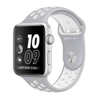 Фото - Apple Watch Nike+ 38mm Silver Aluminum Case with Silver/White Nike Sport Band (MNNQ2)