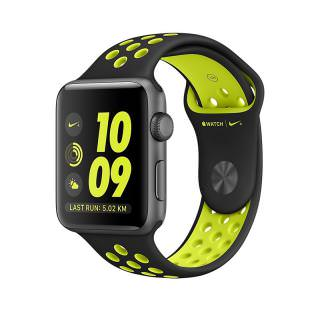 Фото - Apple Watch Nike+ 42mm Space Gray Aluminum Case with Black/Volt Nike Sport Band (MP0A2) (US)