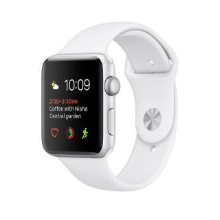 Фото - Apple Watch Series 1 38mm Silver Aluminum Case with White Sport Band (MNNG2) (US)