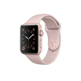 Фото - Apple Watch Series 1 42mm Gold Aluminum Case with Pink Sand Sport Band (MQ112) (US)