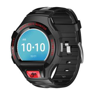 Фото - ALCATEL ONETOUCH Go Watch (Black/red) (US)