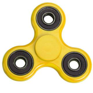 Spinner Plastic Classic Yellow
