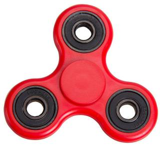 Spinner Plastic Classic Red