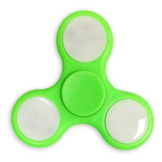 Фото - Spinner Plastic LED Green