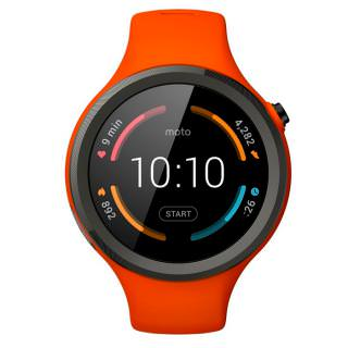 Фото - Motorola 360 2nd Gen. 45mm Sport Flame Orange (00868NARTL) (US)