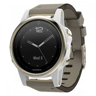 Фото - Garmin fenix 5X Sapphire Edition with Gray Suede Band Champagne (US)