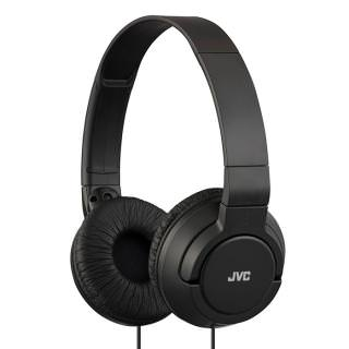 JVC Colorful On-Ear Headphones (JVC-HAS180W) Black
