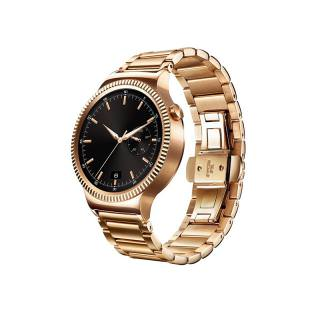 Фото - HUAWEI Watch (Gold Stainless Steel with Gold Stainless Steel Link Band)