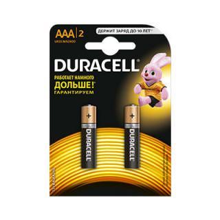 Duracell AAA Alkaline bat 1 шт. LR03 MN2400 1x2 шт. (цена за 1 элемент питания)