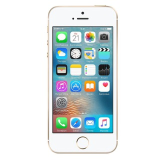 Фото - Apple iPhone SE 16GB Gold (MLXM2) С