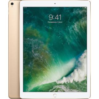 Фото - Apple iPad Pro 12.9 (2017) Wi-Fi + Cellular 64GB Gold (MQEF2) (US)