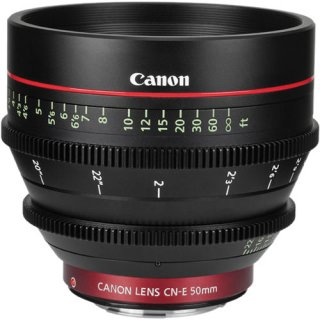 Фото - Canon CN-E 50mm T1.3 L F (US)