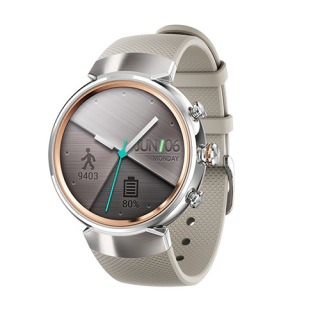 Фото - ASUS Zen Watch 3 WI503Q Silver Rubber Brownish Gray (US)