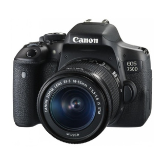 Фото - Canon EOS 750D Kit (18-55 STM) (US)