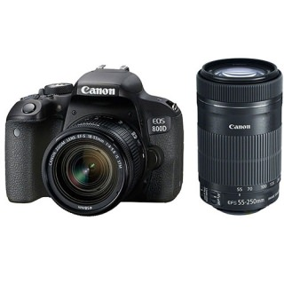 Фото - Canon EOS 800D Kit (18-55)(55-250 STM) (US)