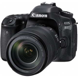 Фото - Canon EOS 80D Kit (18-135 nano) (US)