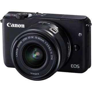 Фото - Canon EOS M3 Twin kit (15-45)(55-200) Black (US)