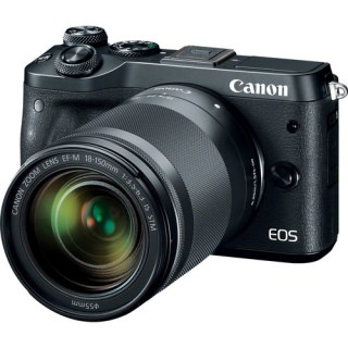 Фото - Canon EOS M6 kit (18-150) Black (US)