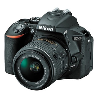 Фото - Nikon D5500 kit (18-55mm VR II) Black
