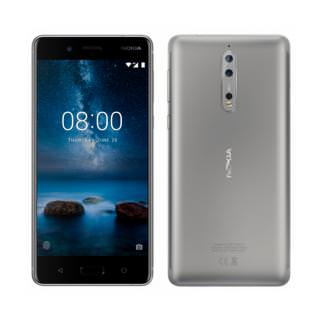 Nokia 8 64GB Dual 4GB RAM Silver (US)
