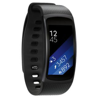 Фото - Samsung Gear Fit2 Black (Refurbished)