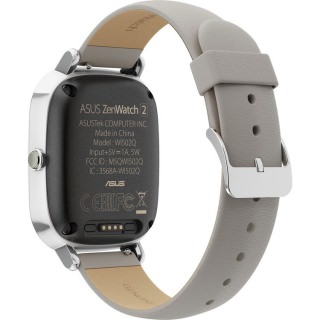 Asus ZenWatch 2 WI502Q 1.45 Silver/Khaki Leather (Refurbished by Asus) OEM (WI502Q-1A-GB2)