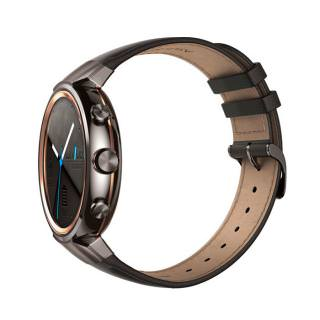 ASUS ZenWatch 3 (WI503Q-GL-BN-BB) 1.39  Gunmetal Casing/Dark Brown Leather (Refurbished by Asus) OEM