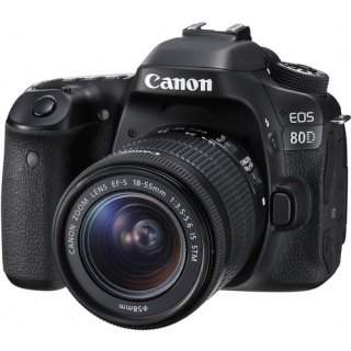 Фото - Canon EOS 80D Kit (18-55) US