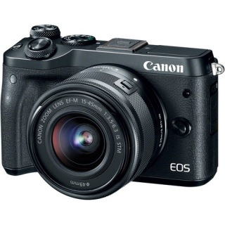 Фото - Canon EOS M6 kit (15-45) Black (US)