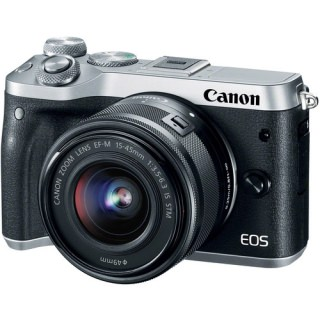 Фото - Canon EOS M6 kit (15-45) Silver (US)