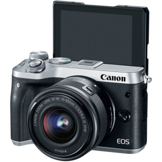 Canon EOS M6 kit (15-45) Silver (US)
