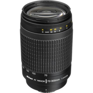 Фото - Nikon AF Zoom-Nikkor 70-300mm f/4-5.6G Black (US)