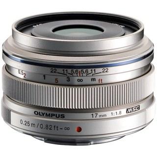 Olympus M.ZUIKO DIGITAL ED 17mm f1.8 (Silver)