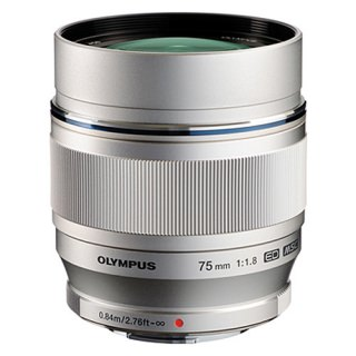 Olympus M.ZUIKO DIGITAL ED 75mm F1.8 (Silver)