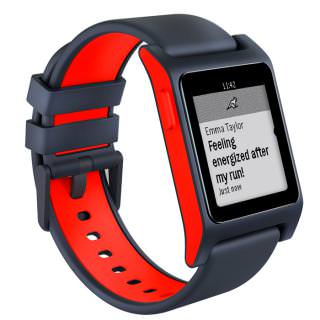 Pebble 2 + Heart rate (1002-00065) Charcoal Flame (OpenBox)