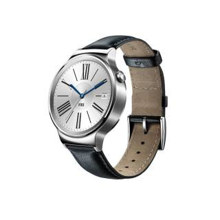 Фото - HUAWEI Watch (Stainless Steel with Black Leather Strap) (Open box)