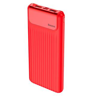 BASEUS Power Bank 10000mAh Thin Quick Charge Red