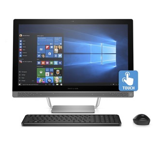 Фото - HP Pavilion 24-B217 24in Touchscreen Silver AIO (US)