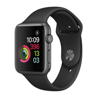 Фото - Apple Watch Series 3 42mm Grey with Black iOS Smartwatch (US)