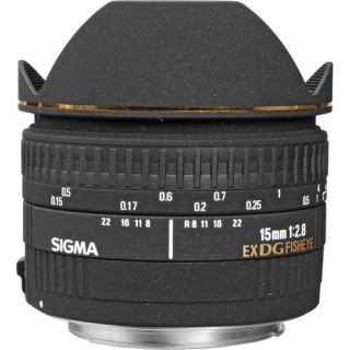 Фото - Sigma 15mm F2.8 EX DG Diagonal Fisheye For Nikon (US)