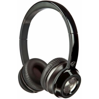 Monster NCredible NTune High Performance On-Ear Headphones Midnight Black A