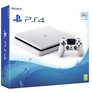 Фото - Sony PlayStation 4 Slim 1TB White