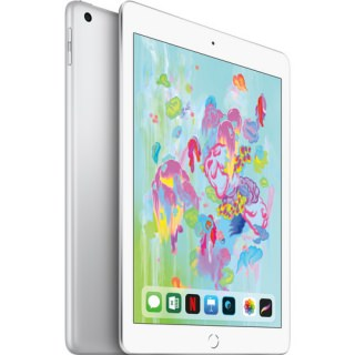 Фото - Apple iPad 2018 128GB Wi-Fi + Cellular Silver (MR732/MR7D2)