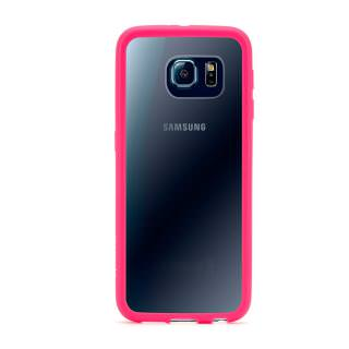 Фото - GRIFFIN Reveal Protective Clear Case with Pink Trim for Samsung Galaxy S6