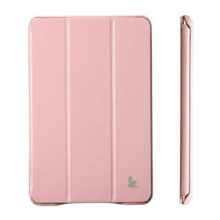 Jisoncase Executive Smart Cover for Apple iPad Magenta