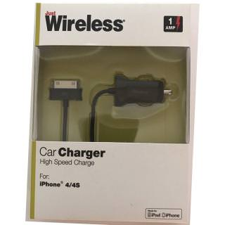 Фото - JUST WIRELESS 03124 30-PIN CAR CHARGER