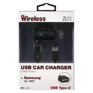 Фото - JUST WIRELESS Car Chargers 2 SETS Samsung (BULK)